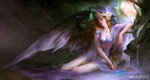 Обои Fallen Angel / Падший ангел, by gyxycn