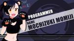 Обои Tsubame Narumi / Цубамэ Наруми из аниме New Game!/Новая игра! 2, by FiRaFi