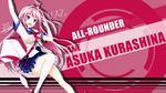 Обои Asuka Kurashina / Аска Курашина из аниме Ao no Kanata no Four Rhythm / Четыре ритма сквозь синеву: За небо, в небосвод, by FiRaFi