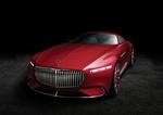 Обои Концептуальный автомобиль люкс-класса Mercedes-Maybach Vision 6