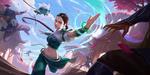 Обои Ionia / Иония из игры League of Legends / Лига Легенд, by Jack Hsu