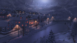 Обои Зимний вечер в городе, by Fel-X