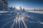 Обои Снежная сказка в Губахе, Пермский край. Фотограф Андрей Чиж