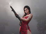 Обои Ada Wong / Ада Вонг из игры Resident Evil / Обитель зла, by Yang chen