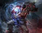 Обои Ryu / Рю из игры Street Fighter / Уличный Боец, by jeremy chong