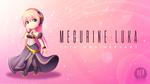 Обои Chibi Vocaloid Megurine Luka / Чиби Вокалоид Мегурине Лука, by MomoChan-100