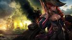 Обои Miss Fortune / Мисс Фортуна из игры League of Legends / Лига Легенд, by daytonchambers