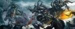 Обои Битва людей против орков, by dongbiao lu