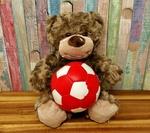 Обои Игрушечный плюшевый медвежонок с с мячом, by Alexas_Fotos