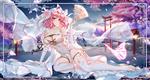 Обои Saigyouji Yuyuko / Ююко Сайгедзи в свадебном платье, персонаж из серии компьютерных игр Touhou Project / «Проект «Восток»», art by Yue Xiao E