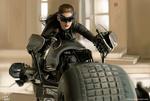 Обои Catwoman / Женщина-кошка из DC Comics на футуристическом мотоцикле, by vurdeM