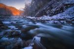 Обои Зимняя река, фотограф sozel