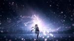 Обои Vocaloid Hatsune Miku / Вокалоид Хатсунэ Мику, by furi