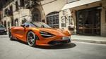 Обои Новый, купе Azores Orange McLaren 720S, 2018 года
