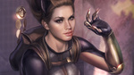 Обои Catwoman / Женщина-кошка из DC Comics, by Josh Burns