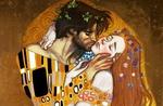 Обои Парень целует девушку, by FidisART