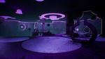 Обои Комната с зеркалами в фиолетовых цветовых оттенках, будущей игры жанра шарикокаталка Venineth от разработчика Venineth Team