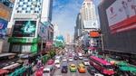 Обои Суета утреннего мегаполиса Bangkok, Thailand / Бангкок Таиланд