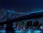 Обои Ночной город, by takasusuki