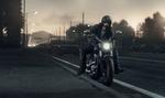 Обои Мотоциклист на дороге, автор Mikhail Sharov
