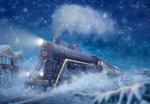 Обои The Polar Express / полярный экспресс, by Mabelle-Elise