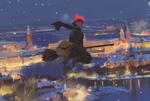 Обои Kiki / Кики из аниме Kikis Delivery Service / Ведьмина служба доставки, by snatti89