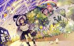 Обои Маленькая ведьмочка собралась на шабаш, но заблудилась с картой, а подружки спрятались