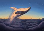 Обои Касатка над облаками, автор Marusa Gorjup