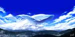 Обои Облачный кит в небе