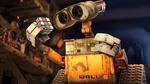 Обои Робот ВАЛЛ-И / WALL-E из одноименного мультика с интересом смотрит на Кубик Рубика, автор BlinkJisooXPS