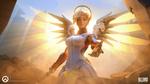 Обои Mercy / Ангел / Ангела Циглер из игры Overwatch / Дозор