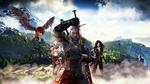 Обои Элен / Elen, Ciri / Сирилла, Геральд из Ривии / Geralt of Rivia один из последних ведьмаков охотившихся на монстров, видеоигра Ведьмак 3 / Дикая охота / The Witcher 3 / Wild hunt