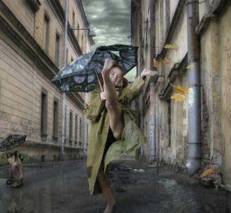 Фото А просто дождь прошёл, нормальный летний дождь!