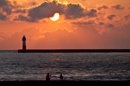 Фото Красивый закат от другого