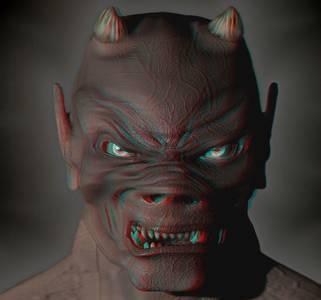 Фото Дьявол в 3D