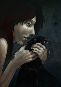 Фото Ведьма с вороном-вещуном (© Anatol), добавлено: 27.06.2010 01:04