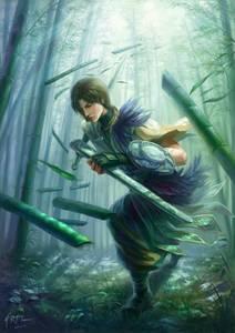 Фото юноша с мечём (путь самурая) (© Anatol), добавлено: 30.06.2010 00:55