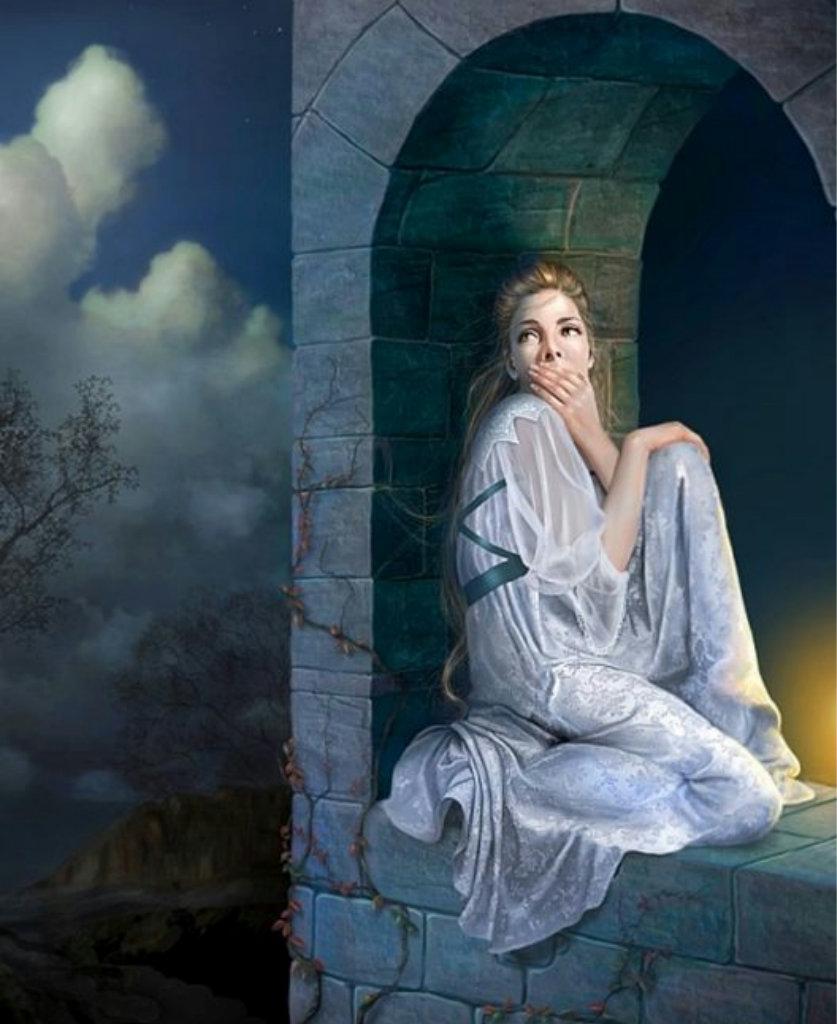 Фото девушек в замке 7 фотография