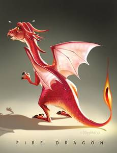 Фото огненный дракон-fire dragon