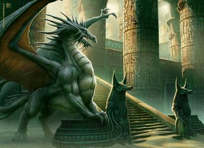 Фото оживший дракон (© Anatol), добавлено: 04.07.2010 01:17