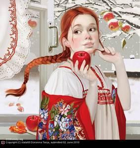 Фото с волшебным яблочком (© Anatol), добавлено: 08.07.2010 02:11