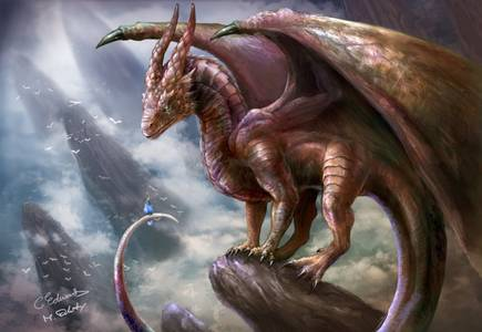 Фото дракон признаётся в любви