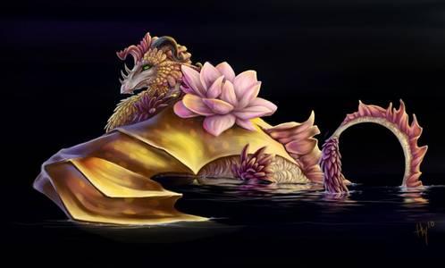 Фото Розовый дракоша (© Anatol), добавлено: 10.07.2010 18:22