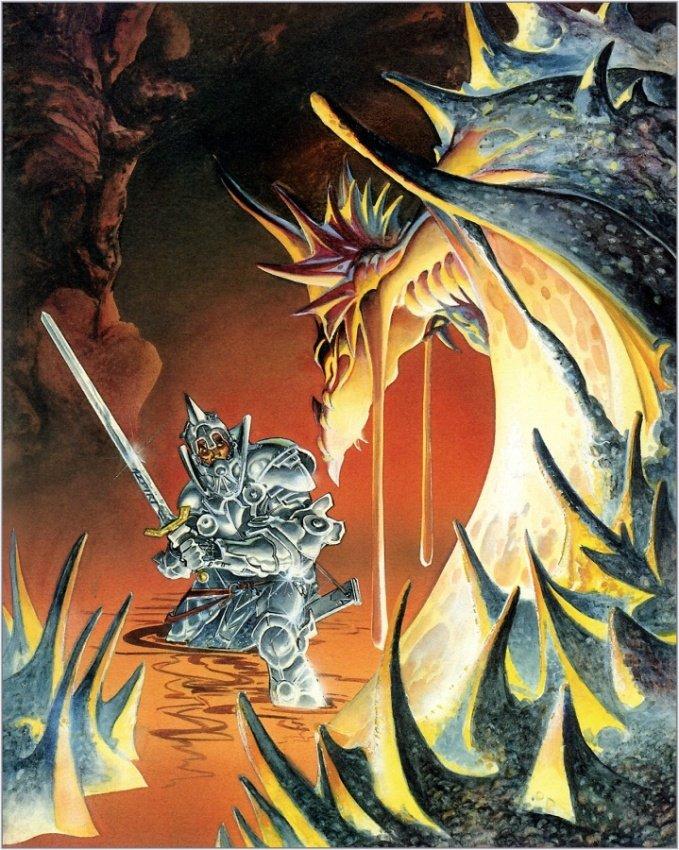 Фото Битва с драконом