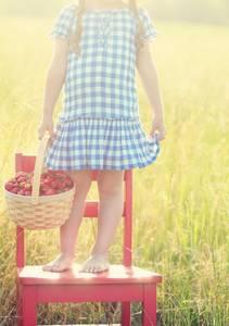 Фото Девочка с корзинкой ягод (© Юки-тян), добавлено: 12.08.2010 18:26