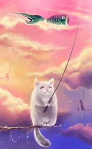 Фото Коты ловят.. ветер (© Anatol), добавлено: 25.08.2010 19:39