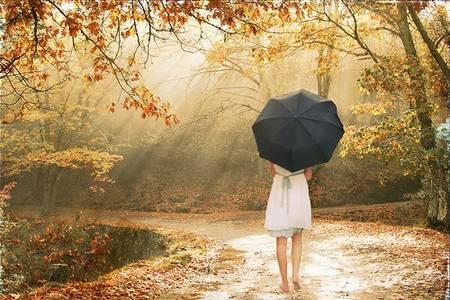 Фото Очень [Девушка под чёрным зонтом] (© Юки-тян), добавлено: 28.08.2010 19:04