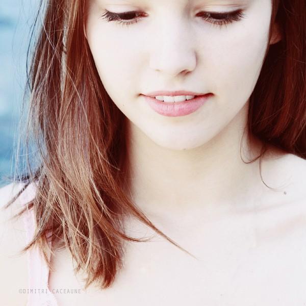 Фото просто красивая девушка