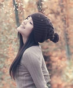 Фото Девушка в шапке