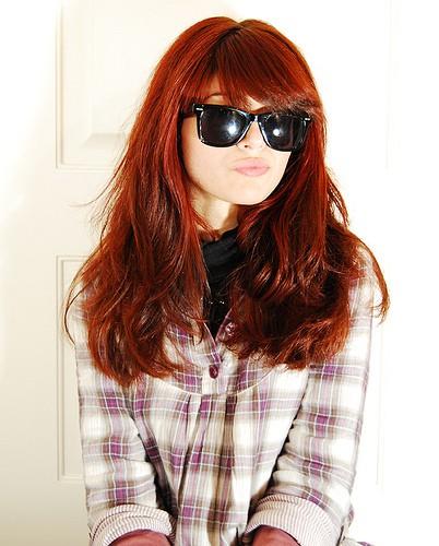 Образ девушка в очках
